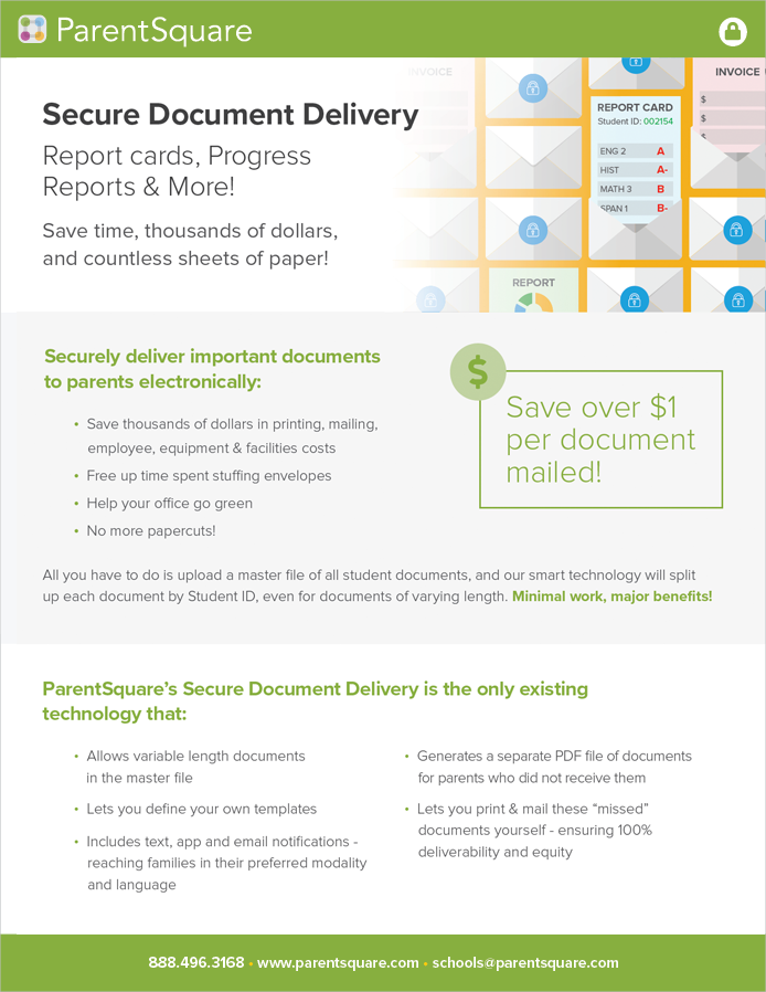 Secure Document Delivery
